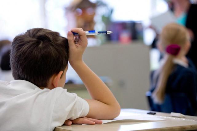 «L'écart de réussite scolaire entre garçons et filles... (PHOTO DAVID BOILY, Archives LA PRESSE)