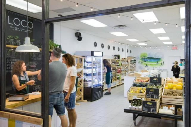 L'épicerie zéro déchet Loco.... (Photo Edouard Plante-Fréchette, La Presse)