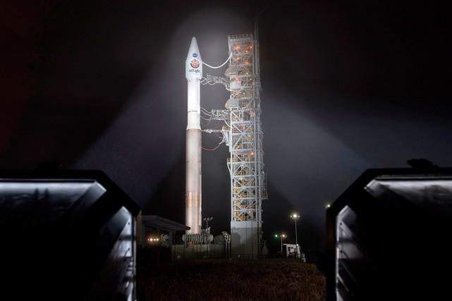 Si tout continue de se dérouler comme prévu,... (PHOTO BILL INGALLS, NASA VIA AFP)