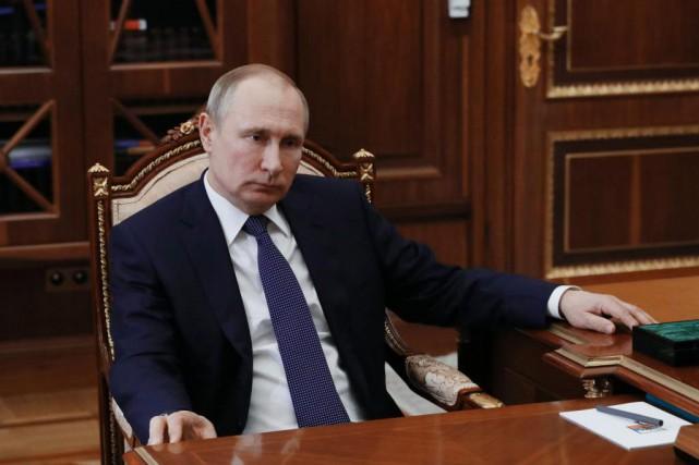 Le président de la Russie, Vladimir Poutine... (PHOTO MIKHAIL KLIMENTYEV, AGENCE FRANCE-PRESSE)