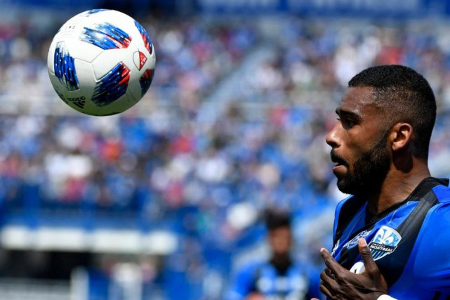 Anthony Jackson-Hamel a marqué deux buts dans la... (PhotoEric Bolte, USA TODAY Sports)