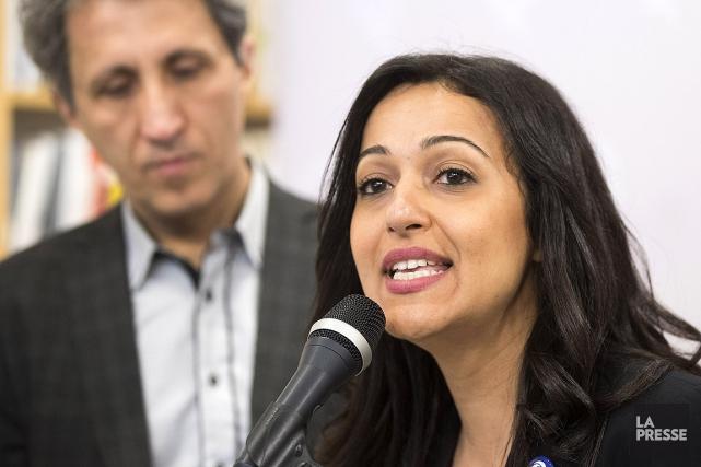 Ruba Ghazal, une militante de longue date de... (Patrick Sanfaçon, La Presse)