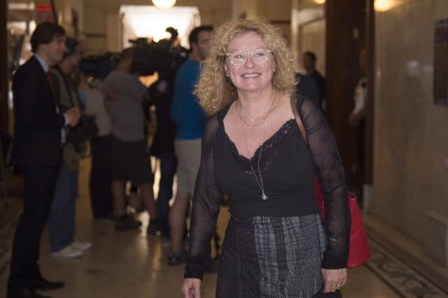 Marguerite Blaisse présentera dans la nouvelle circonscription de... (Photo Jacques Boissinot, archives PC)
