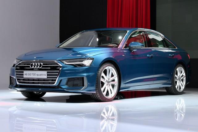 Audi, filiale marque haut de gamme du Groupe... (photo AFP)