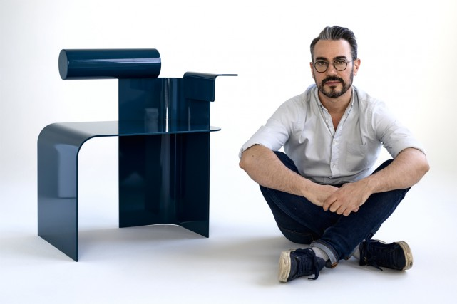 Un prototype de chaise de la nouvelle collection... (PHOTO FOURNIE PAR L'ATELIER ZÉBULON PERRON)
