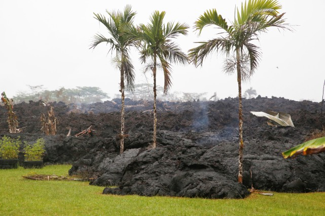 hawaii volcan en activité