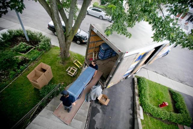 Un déménagement peut être bien planifié, ce qui... (Photo David Boily, Archives La Presse)