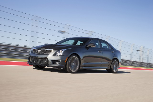 La berline Cadillac ATS-V.... (Photo cadillac)