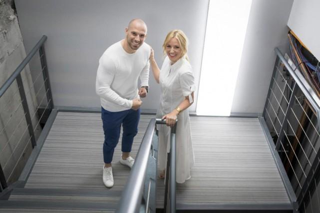 Étienne Boulay et Émily Bégin animeront la nouvelle... (Photo Ivanoh Demers, La Presse)
