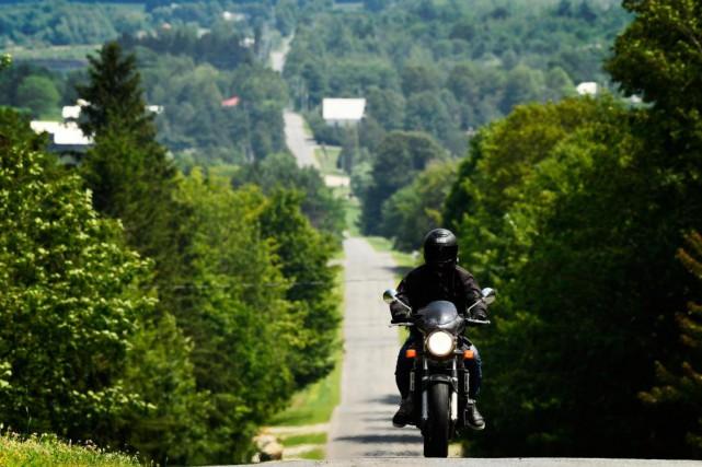 Plusieurs événements consacrés aux motocyclistes sont organisés l'été... (Photo Bernard Brault, archives La Presse)