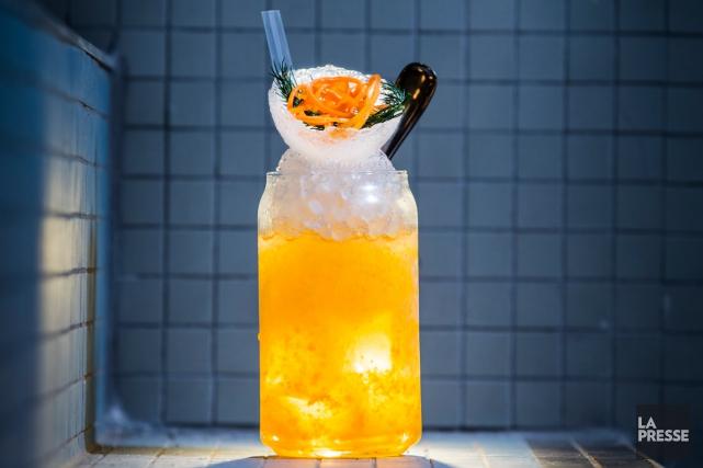 Le cocktail Not to sweet, à siroter par... (Photo Édouard Plante-Fréchette, La Presse)