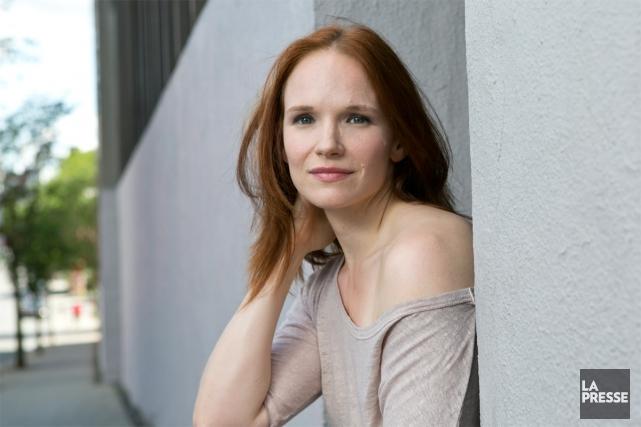 La comédienne Marianne Farley en est à son... (PHOTO HUGO-SÉBASTIEN AUBERT, LA PRESSE)