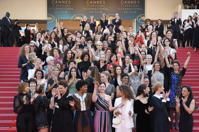 Ces femmes ont également souligné que depuis sa... (Photo Loic Venance, Agence France-Presse)