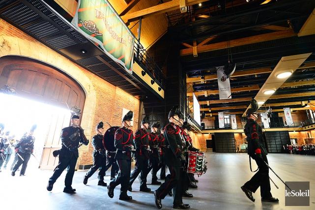Le Manège militaire de Québec, déclaré lieu historique... (PHOTO YAN DOUBLET, LE SOLEIL)