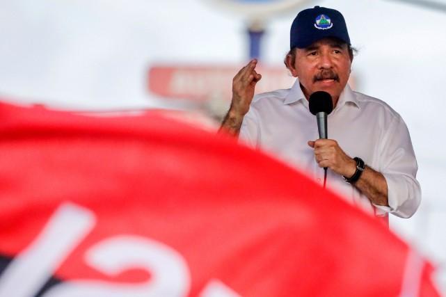 Le président du Nicaragua, Daniel Ortega... (PHOTO ARCHIVES AFP)