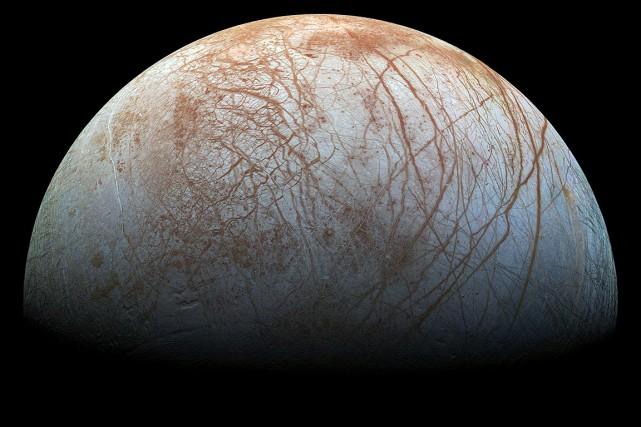 La Nasa estime qu'Europe est l'un des meilleurs... (JPL-Caltech, SETI Institute, NASA VIA AFP)