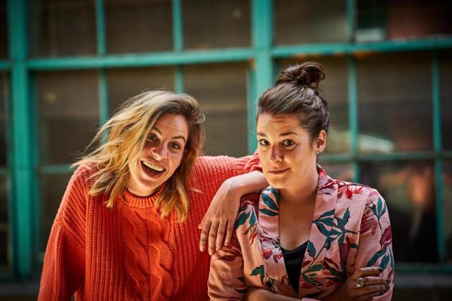 Formé deMarie-Lyne Joncas et d'Ève Côté, le duo... (PhotoAndré Pichette,La Presse)