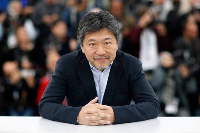 Le Japonais Hirokazu Kore-Eda sur le Photocall du Festival de Cannes - AFP
