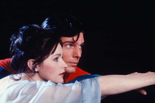 Christopher Reeve (Superman) et Margot Kidder (Lois Lane)... (Photo archives La Presse Canadienne)