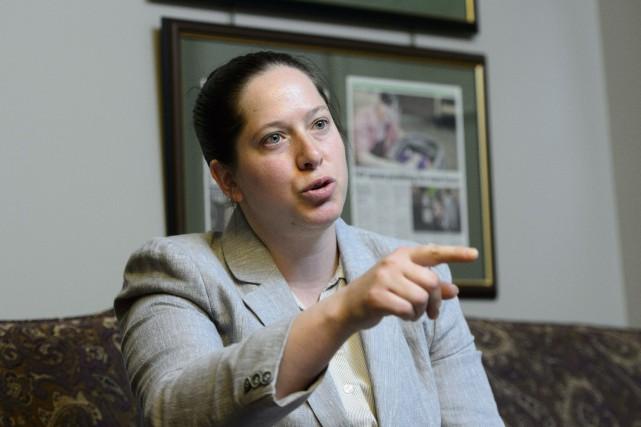 La députée néo-démocrate Christine Moore... (Photo Sean Kilpatrick, archives PC)