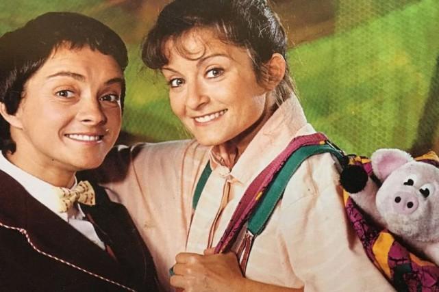 France Chevrette et Lorraine Auger dans Robin et... (Photo fournie par la production)