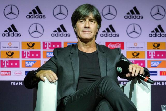 Le sélectionneur de l'Allemagne, Joachim Löw.... (Photo Patrik Stollarz, AFP)