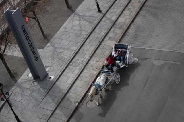 Partir à la découverte du Vieux-Montréal, une activité... (Photo Ivanoh Demers, La Presse)