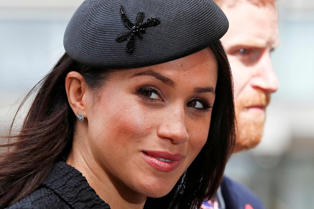Meghan Markle... (Photo Adrian Dennis, archives Agence France-Presse)