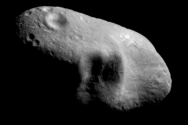 L'astéroïde 2010 WC9 volera à 12,8 km par... (Photo archives La Presse canadienne)