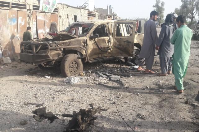 «Les talibans ont été repoussés hors de la... (REUTERS)