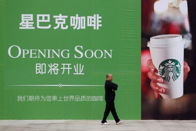 Starbucks ambitionne de compter 6000 établissements en Chine... (REUTERS)
