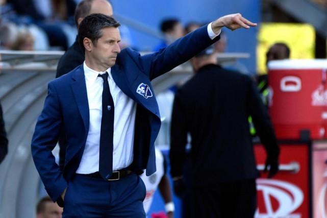 L'entraîneur Rémi Garde n'accepte pas la fatigue comme... (Photo Bernard Brault, La Presse)