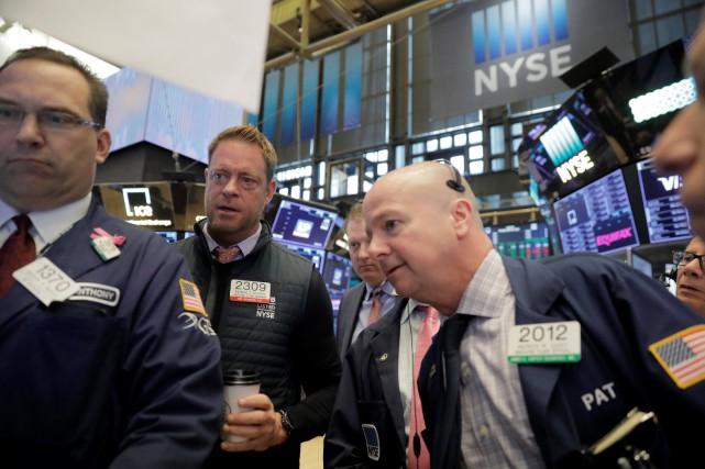 Wall Street a terminé en hausse mercredi, reléguant au second plan les... (PHOTO REUTERS)