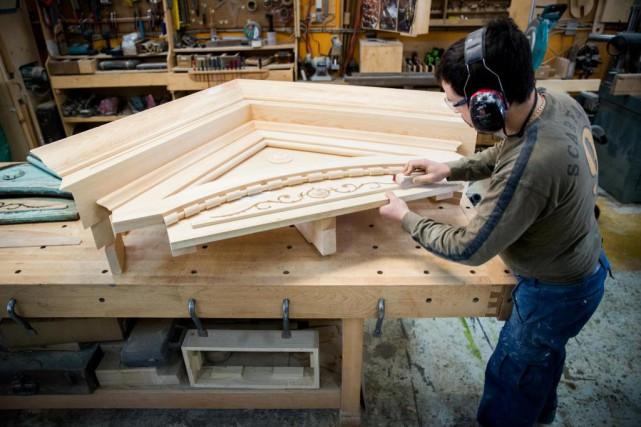 L'Atelier L'Établi est l'une de ces entreprises qui... (Photo Marco Campanozzi, La Presse)