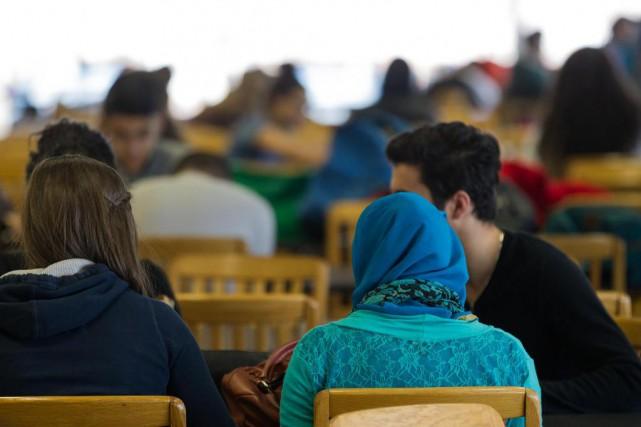 Une majorité d'élèves sont d'avis que les juifs... (Photo Edouard Plante-Fréchette, Archives La Presse)
