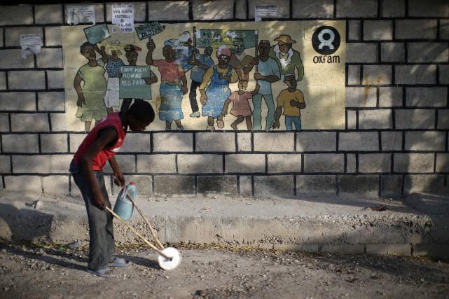 Oxfam avait été au coeur d'un scandale et... (Photo Andres Martinez Casares, archives Reuters)