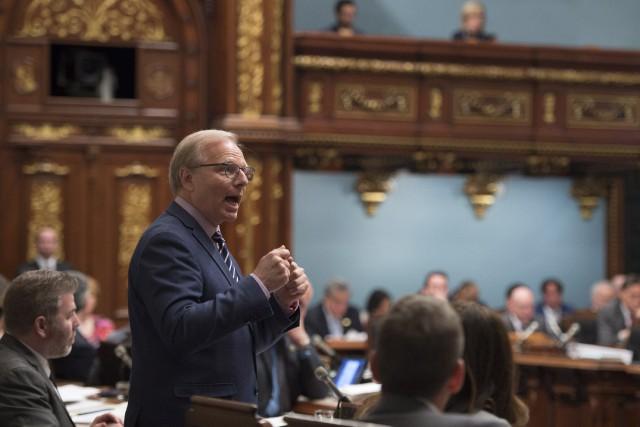 Le chef du Parti québécois, Jean-François Lisée... (PHOTO Jacques Boissinot, LA PRESSE CANADIENNE)