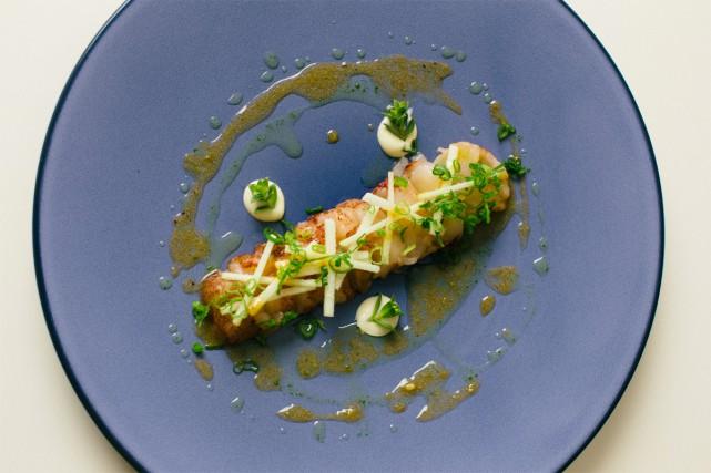 Le carpaccio de homard et sa vinaigrette à... (PHOTO NIGEL QUINN, COLLABORATION SPÉCIALE)