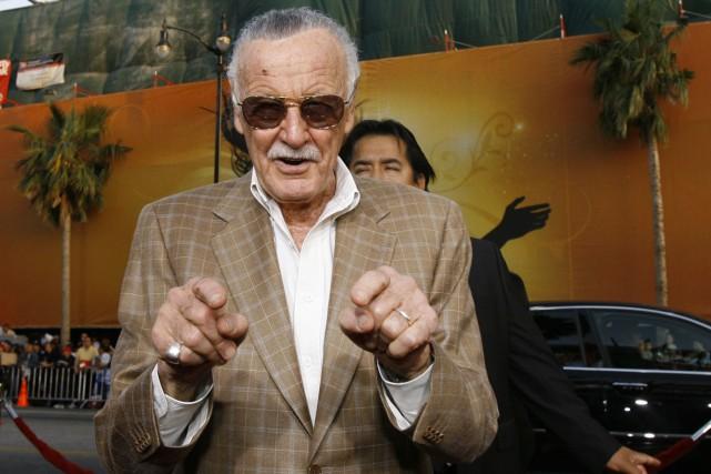 Le scénariste et éditeur américain Stan Lee réclame... (PHOTO ARCHIVES REUTERS)