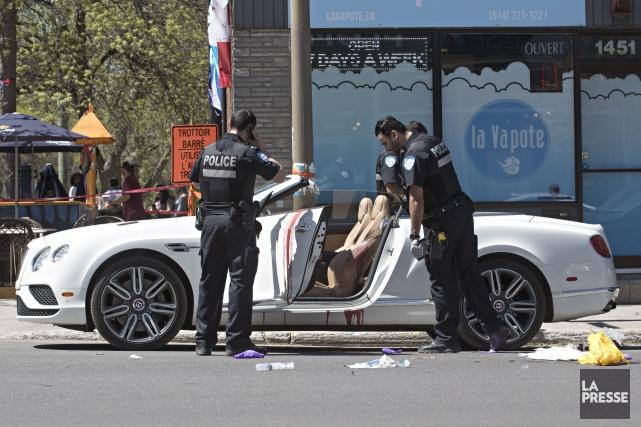 Selon nos informations, Samy Mokaddem aurait trempé dans... (PHOTO PATRICK SANFAÇON, LA PRESSE)