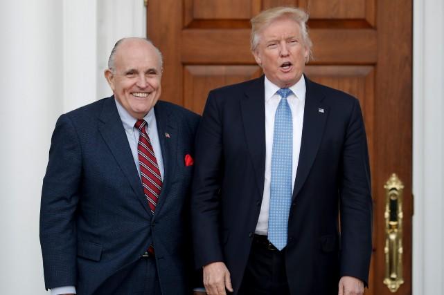 L'avocat du président et maire de New York,... (PHOTO Carolyn Kaster, AP)