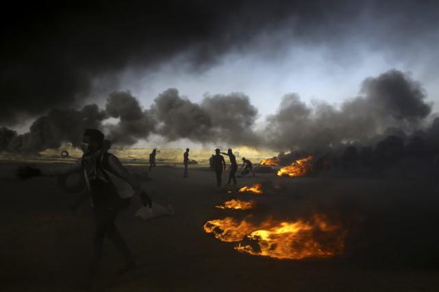 Israël n'a cessé de proclamer que la protestation... (AP)