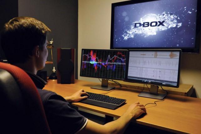 Chez D-Box, un compositeur de mouvement à l'oeuvre.... (Photo fournie par D-Box)