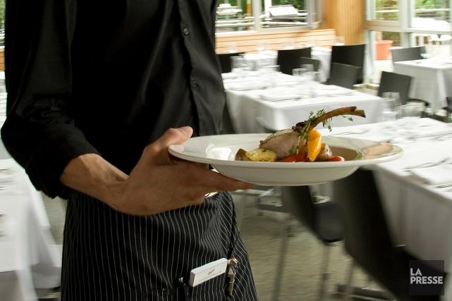 Les restaurateurs exigent un crédit d'impôt de 100%... (Marco Campanozzi, archives La Presse)