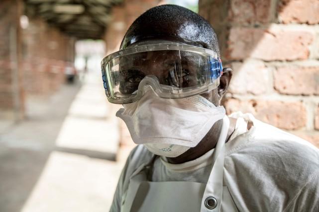 La ville de Mbandaka où le premier cas... (Photo AFP)
