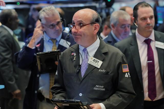 Wall Street s'est pour sa part préoccupée de... (PHOTO ARCHIVES REUTERS)