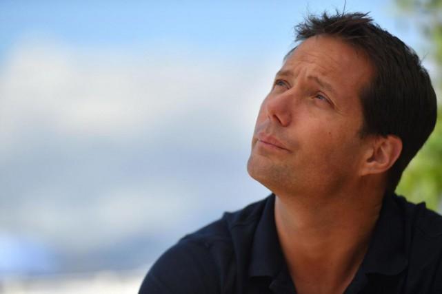 Le «spationaute» français ThomasPesquet a posé pour les... (PhotoYANN COATSALIOU, Agence France-Presse)