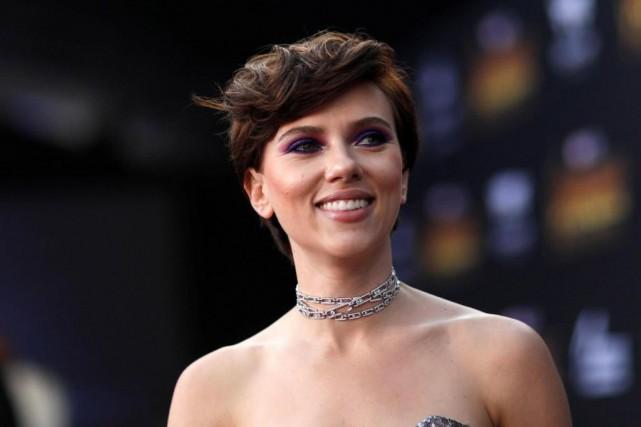 L'actrice américaine Scarlett Johansson est l'une des 25... (Photo Mario Anzuoni, Reuters)