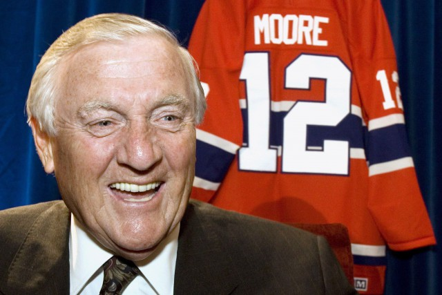 Dickie Moore... (Photo Paul Chiasson, archives PC)