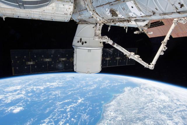 En chiffres, la NASA dépense aujourd'hui entre 3... (Photo Agence France-Presse)